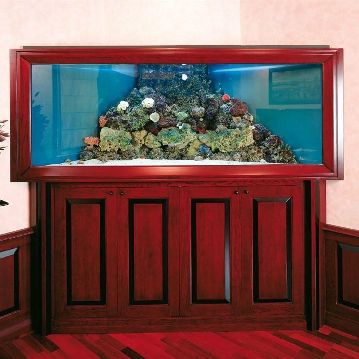 绵阳红木(实木)鱼缸
