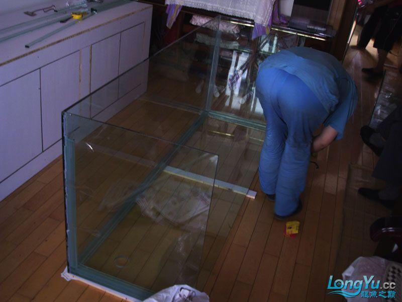 看看我订做的2米的缸~~~~~~ 绵阳龙鱼论坛 绵阳水族批发市场第7张