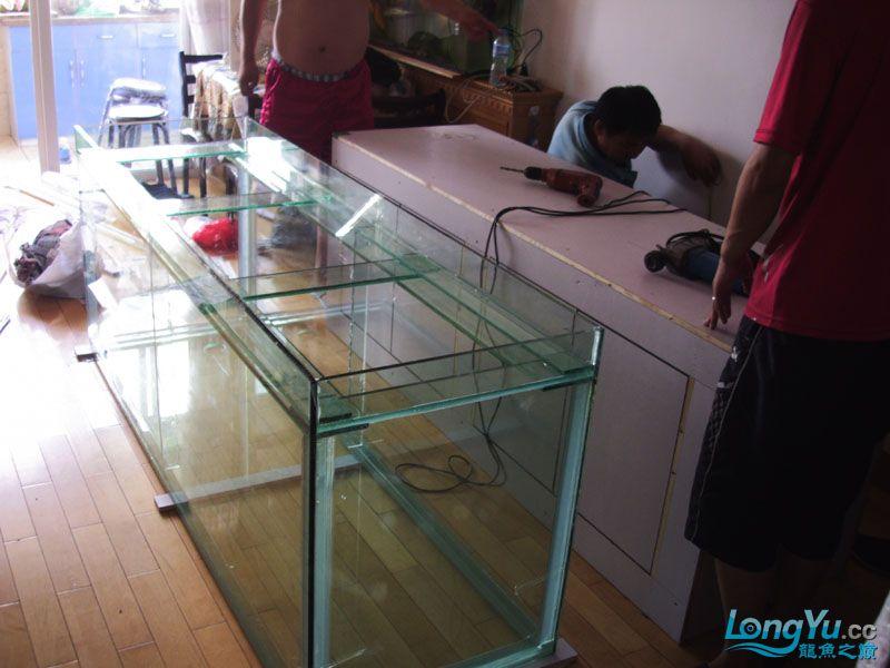 看看我订做的2米的缸~~~~~~ 绵阳龙鱼论坛 绵阳水族批发市场第15张