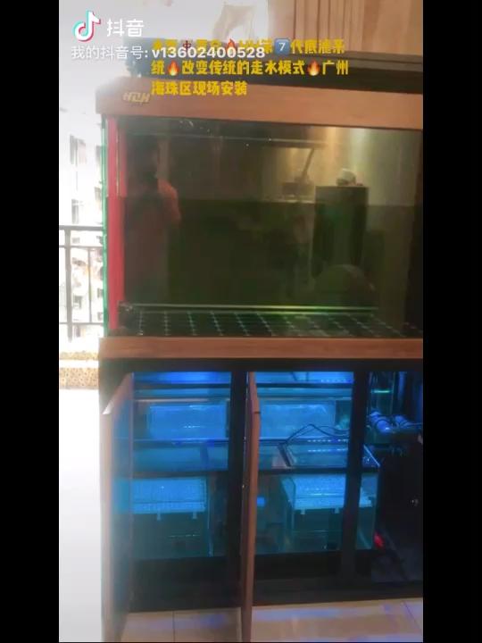 广州海珠区安装现场·搭载我司第七代 绵阳龙鱼论坛 绵阳水族批发市场第1张